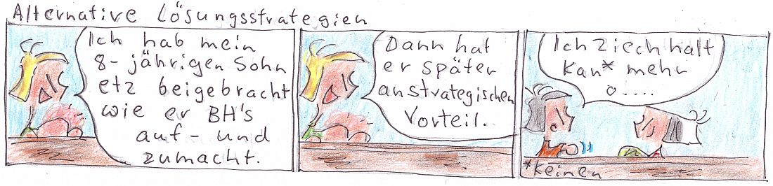 Die Glaa aus ERH - CRPS Comic Alternative Loesungsstrategien